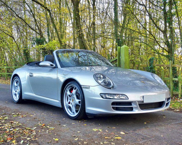 Blokada kierownicy Porsche